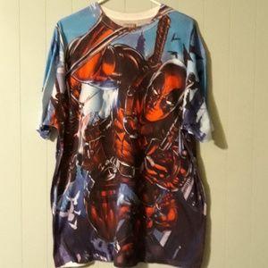 Marvel Deadpool shirt.